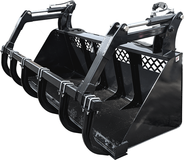 High Capacity Grapple Bucket