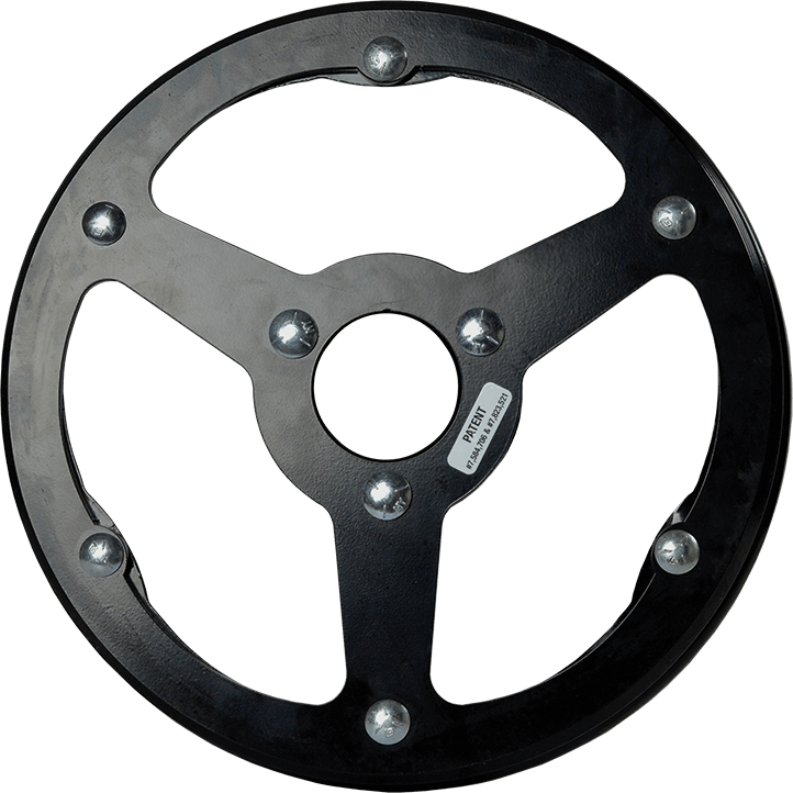 MudSmith Interior Replacement Rim (3-Spoke)