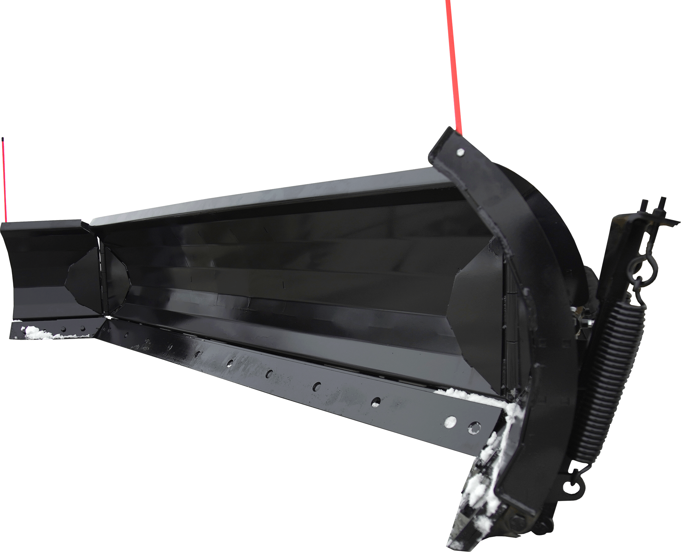 Super Winged Hydraulic Angle Snow Blade