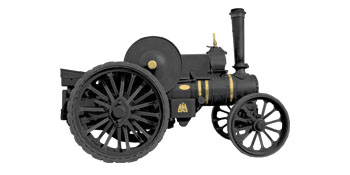 gas powered tractor