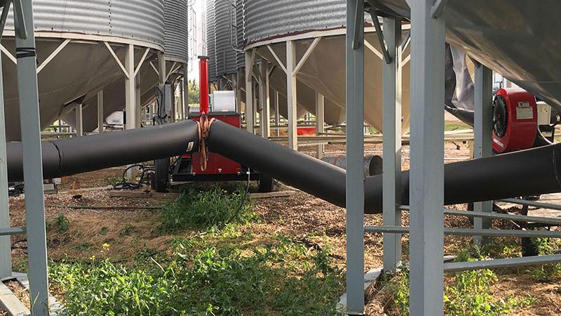 The ThunderDryer Grain drying Harvest Equipment
